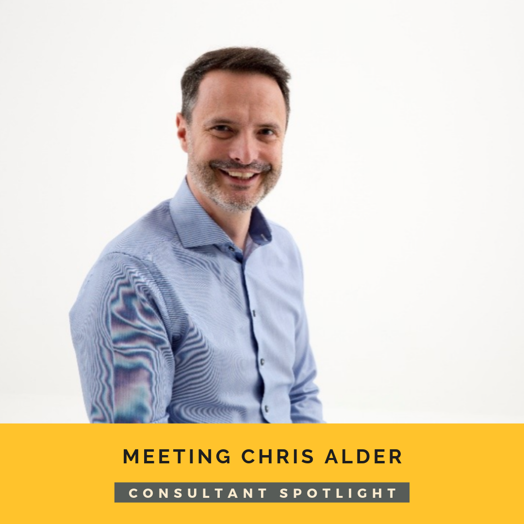 Meeting Chris Alder