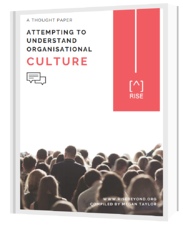 Attempting to Understand Organisational Culture
